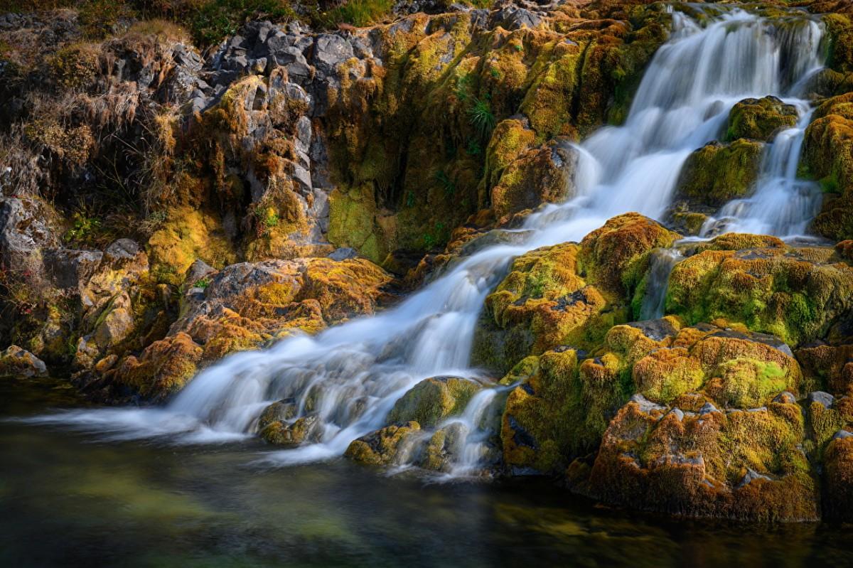 Пазл Собирать пазлы онлайн - Водопад в Исландии