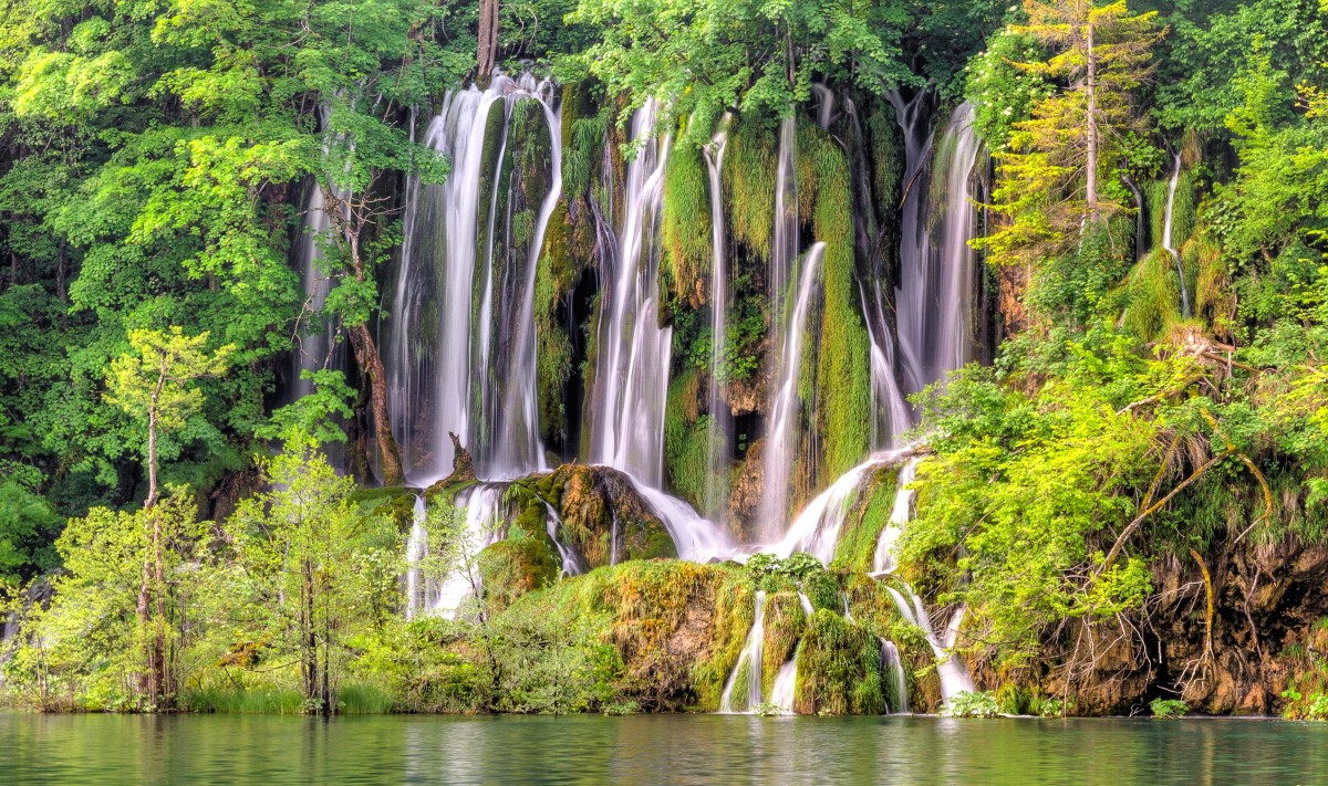Пазл Собирать пазлы онлайн - Водопады Хорватии