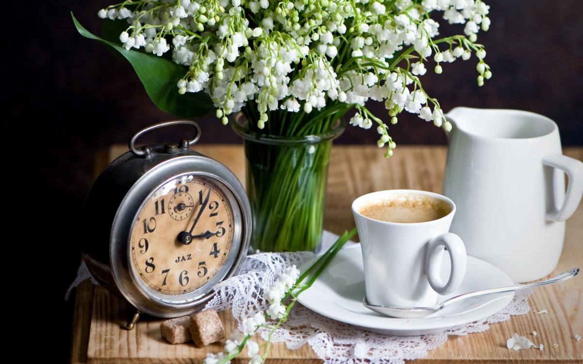 Пазл Собирать пазлы онлайн - Время для кофе