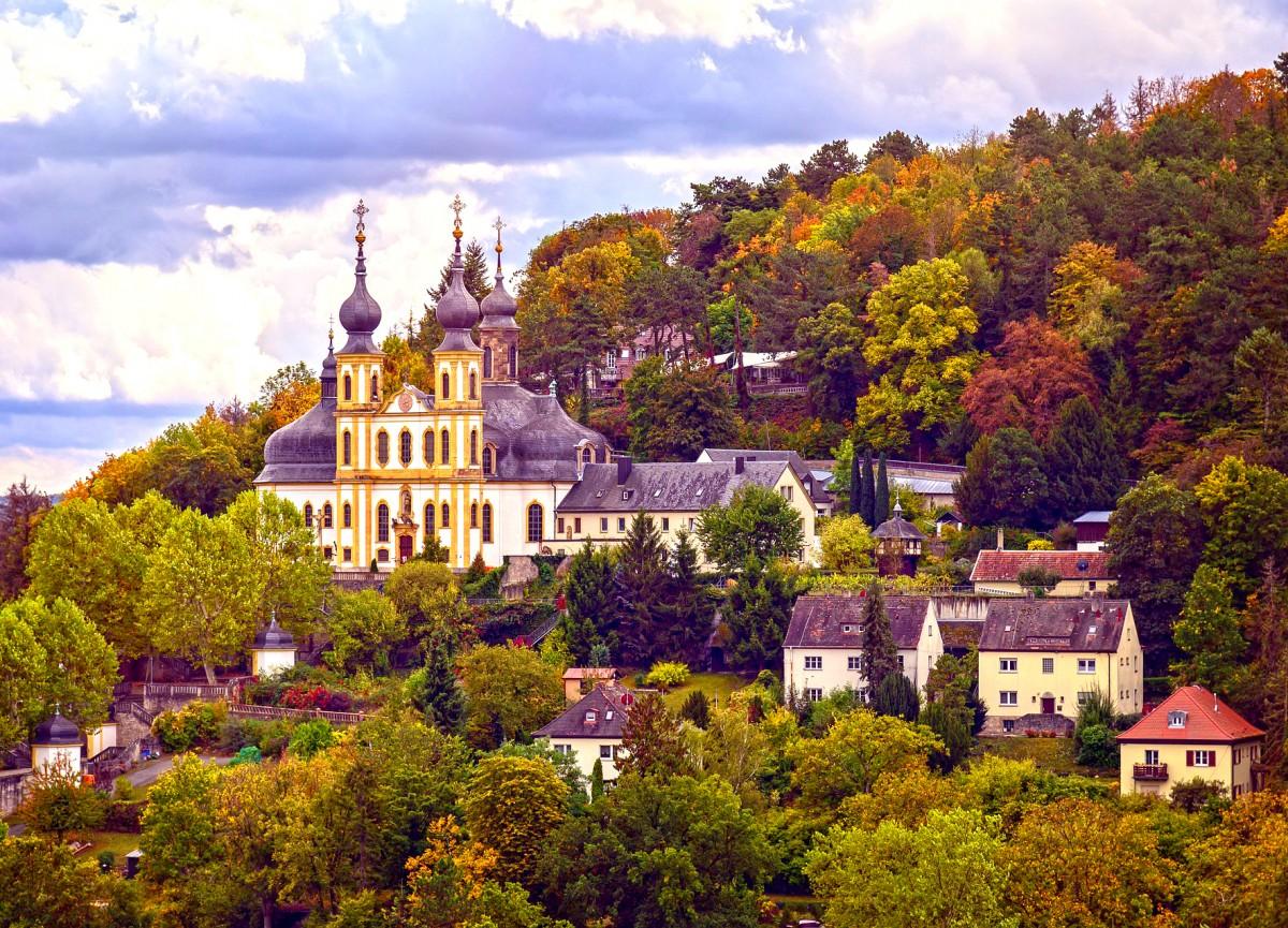 Пазл Собирать пазлы онлайн - Вюрцбург Германия