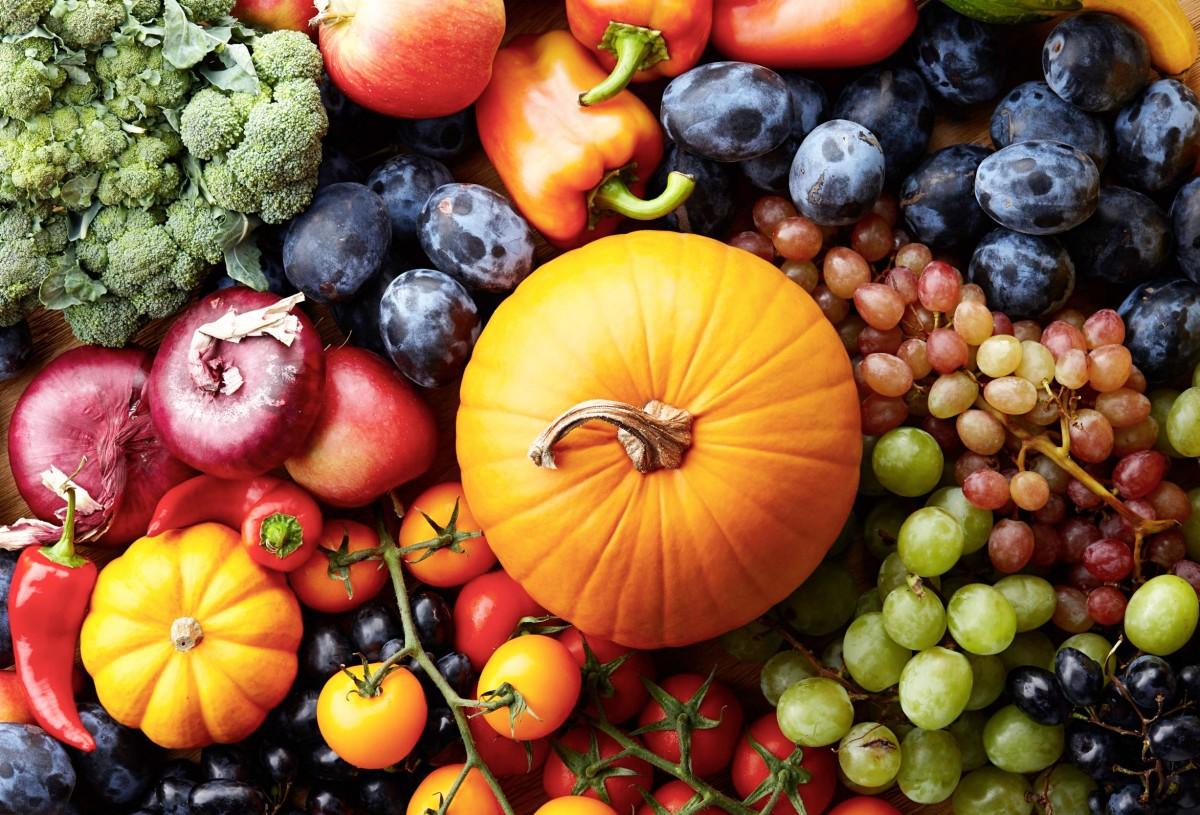 Пазл Собирать пазлы онлайн - Ягоды и овощи