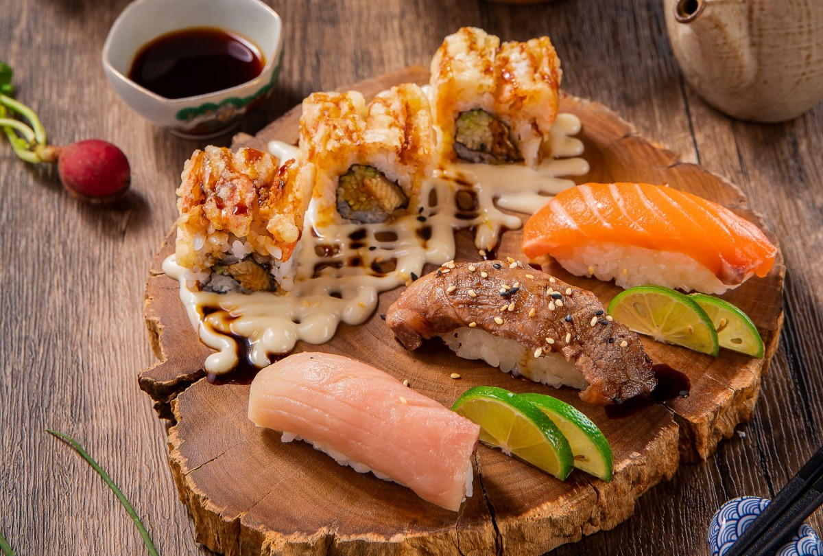 Пазл Собирать пазлы онлайн - Японская кухня