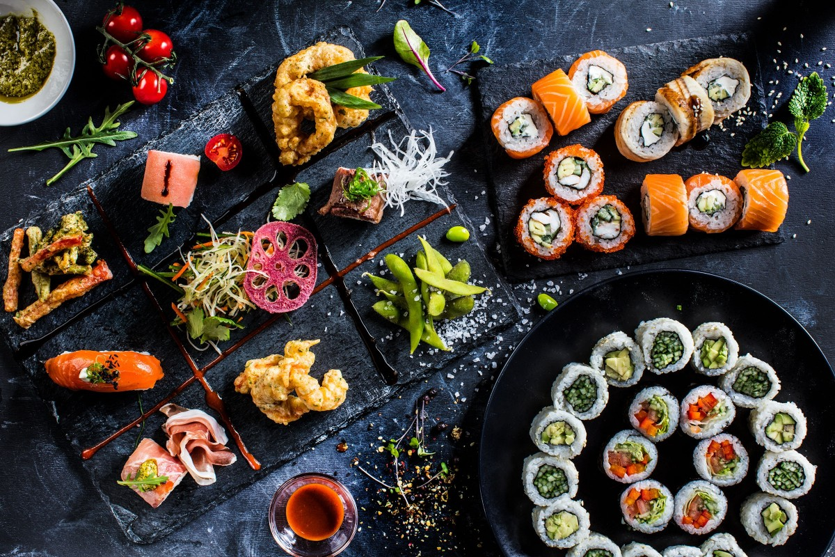 Пазл Собирать пазлы онлайн - Японские блюда
