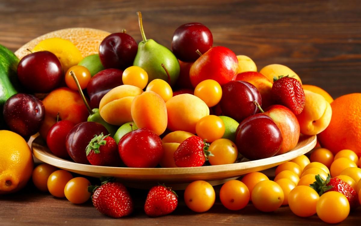 Пазл Собирать пазлы онлайн - Яркие плоды лета