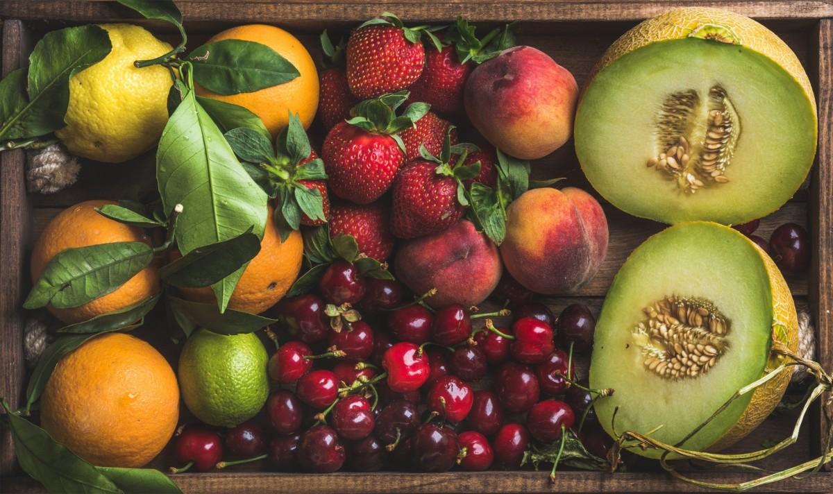 Пазл Собирать пазлы онлайн - Ящик фруктов