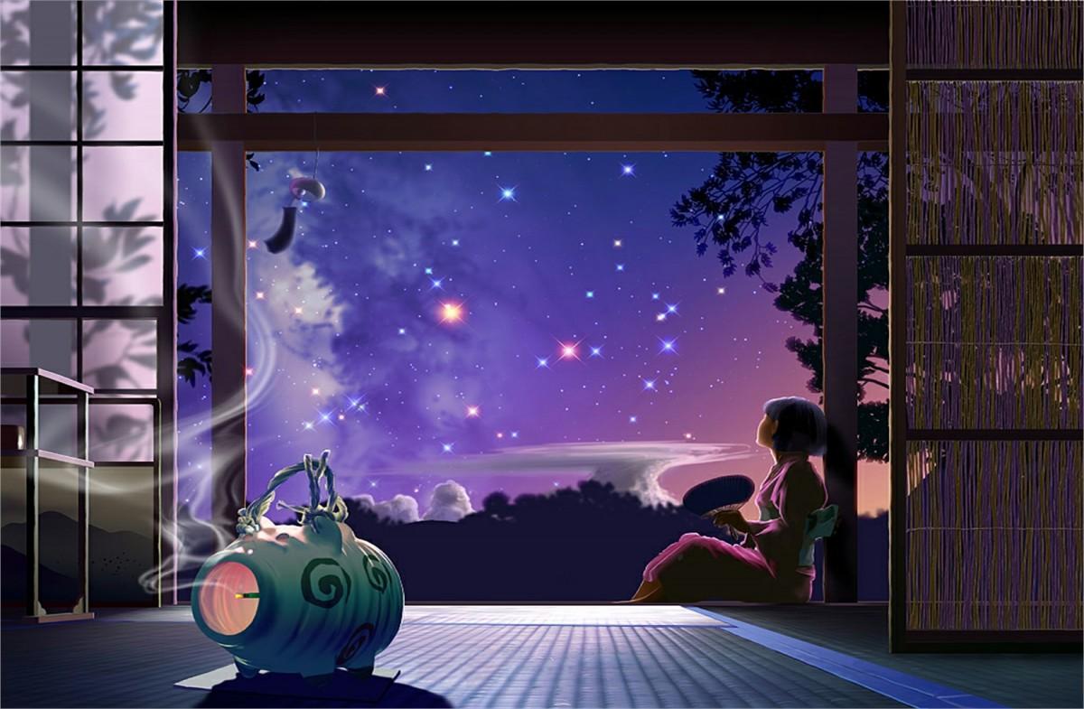 Пазл Собирать пазлы онлайн - Задумчивое небо