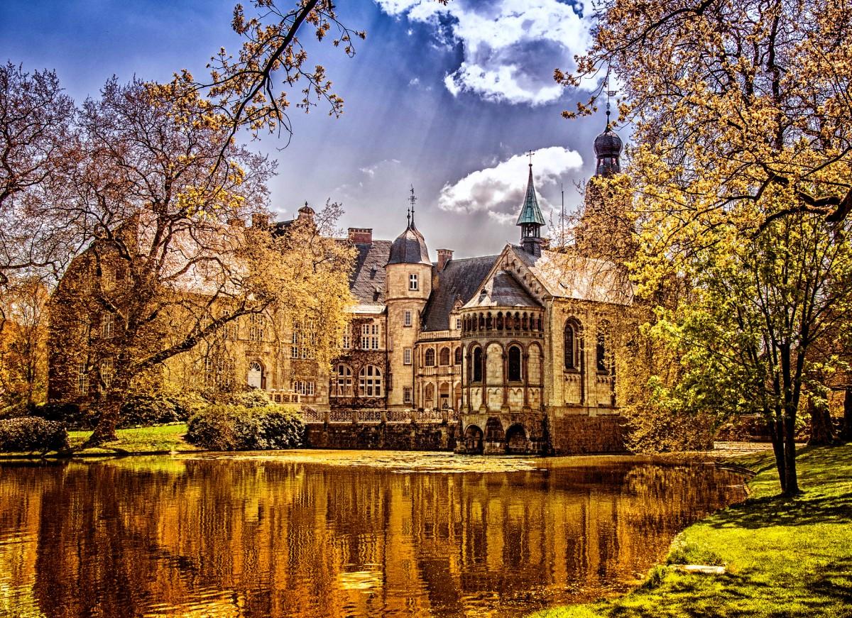 Пазл Собирать пазлы онлайн - Замок Дарфелд