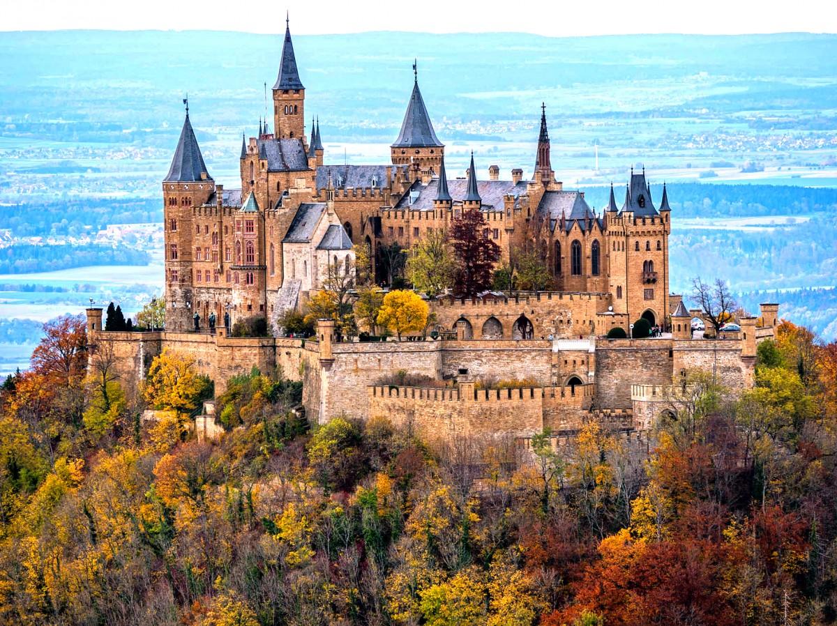 Пазл Собирать пазлы онлайн - Замок Гогенцоллерн