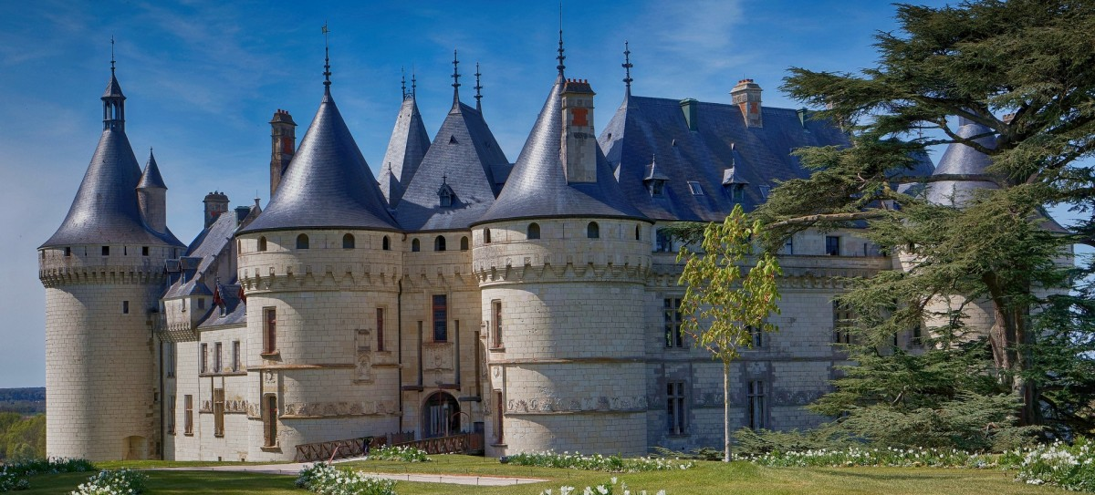 Пазл Собирать пазлы онлайн - Замок на Луаре