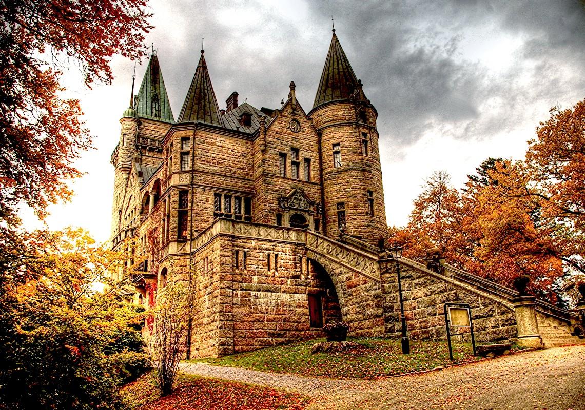 Пазл Собирать пазлы онлайн - Замок Телеборг
