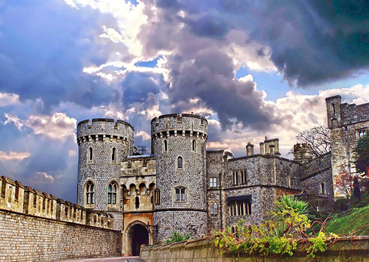 Пазл Собирать пазлы онлайн - Замок Виндзор