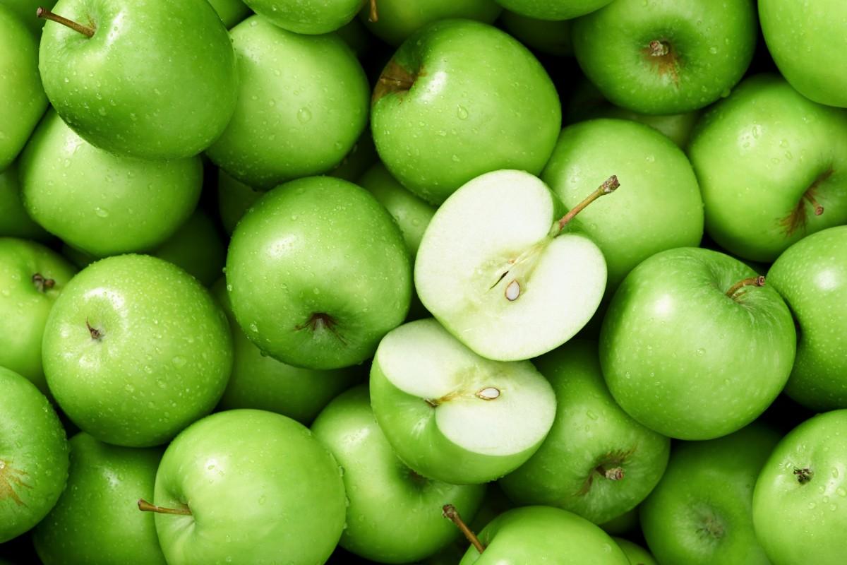 Пазл Собирать пазлы онлайн - Зелёные яблоки