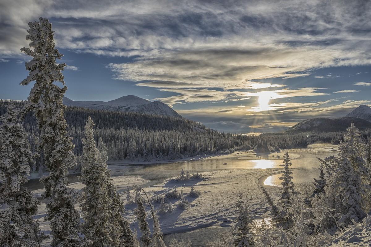 Пазл Собирать пазлы онлайн - Зима