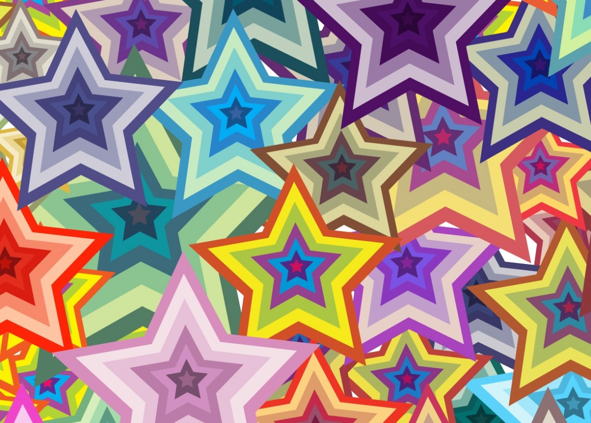 Пазл Собирать пазлы онлайн - Звезды