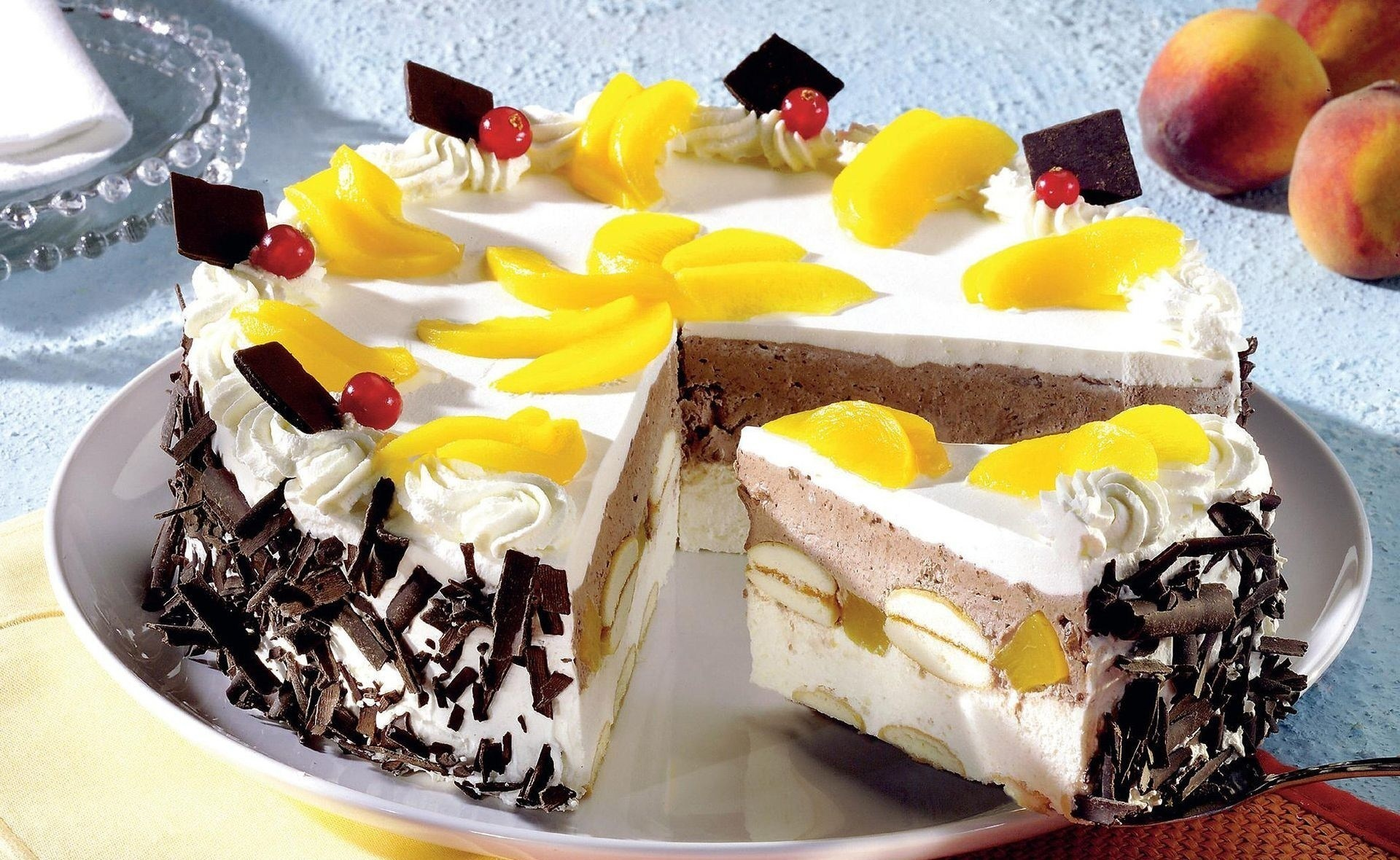 еда торт фрукты без смс