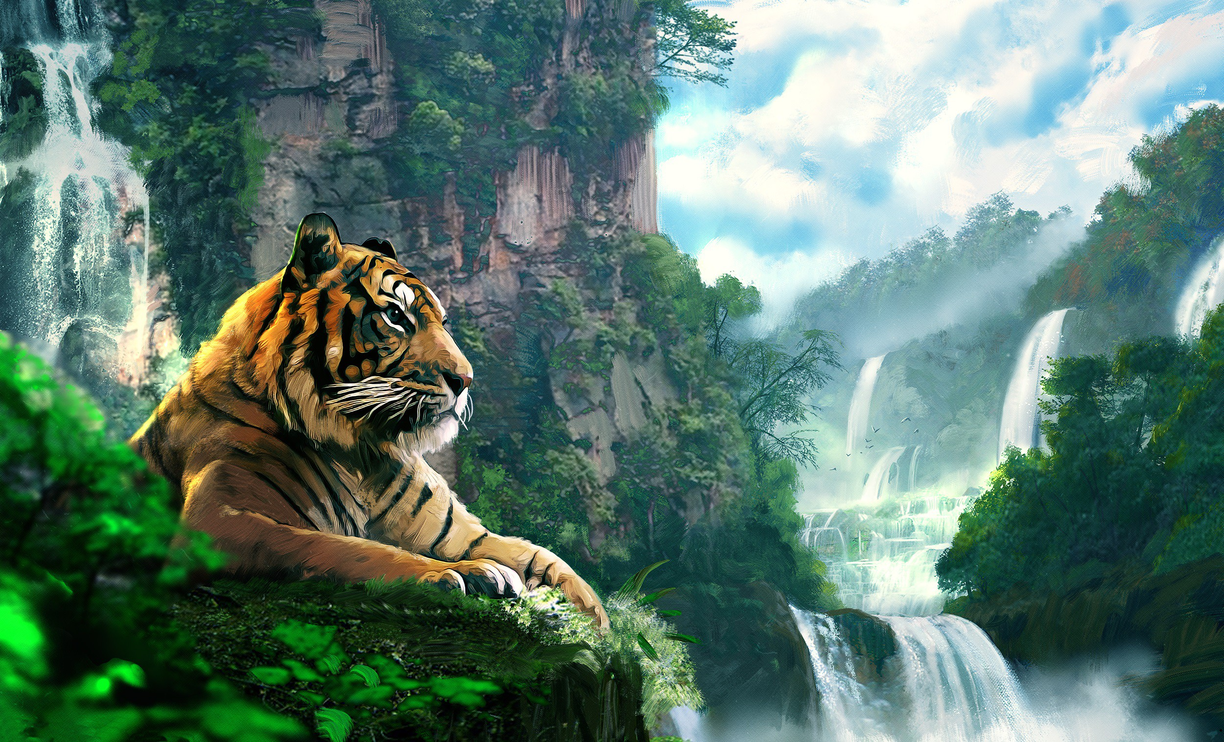 тигр лес загрузить
