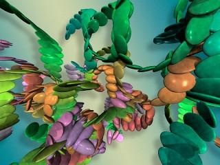 Собирать пазл 3D абстракция онлайн