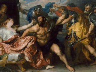 Собирать пазл  Самсон и Далила онлайн