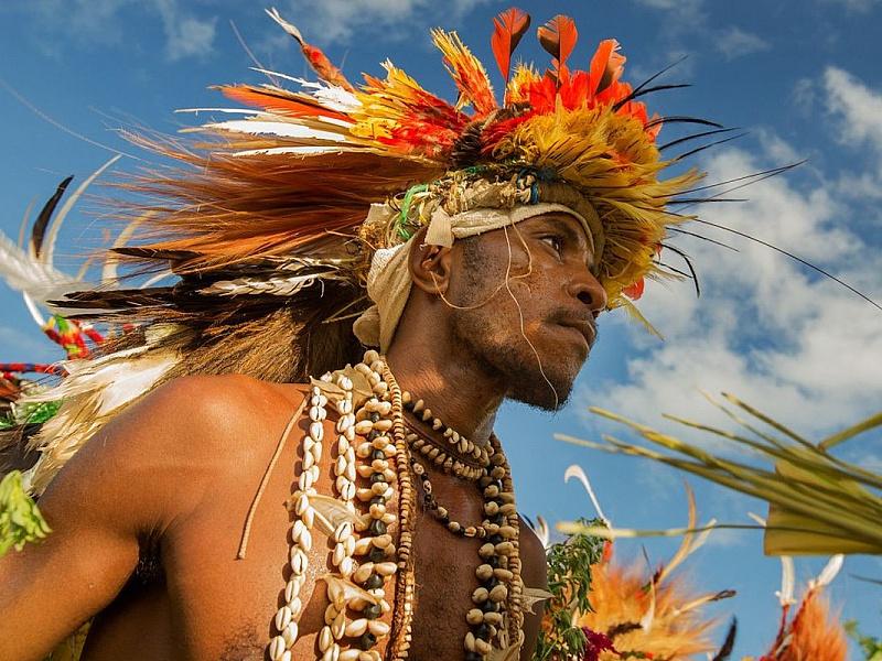 Пазл Собирать пазлы онлайн - Абориген