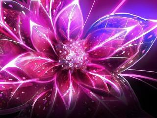 Собирать пазл Абстрактный цветок онлайн