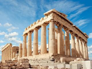 Собирать пазл Акрополь в Афинах онлайн