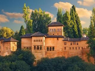 Собирать пазл Альгамбра онлайн