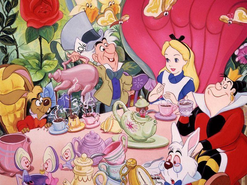 Пазл Собирать пазлы онлайн - Алиса в стране чудес