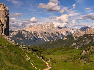 Собирать пазл Альпы в Италии онлайн