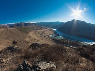 Собирать пазл Алтай онлайн