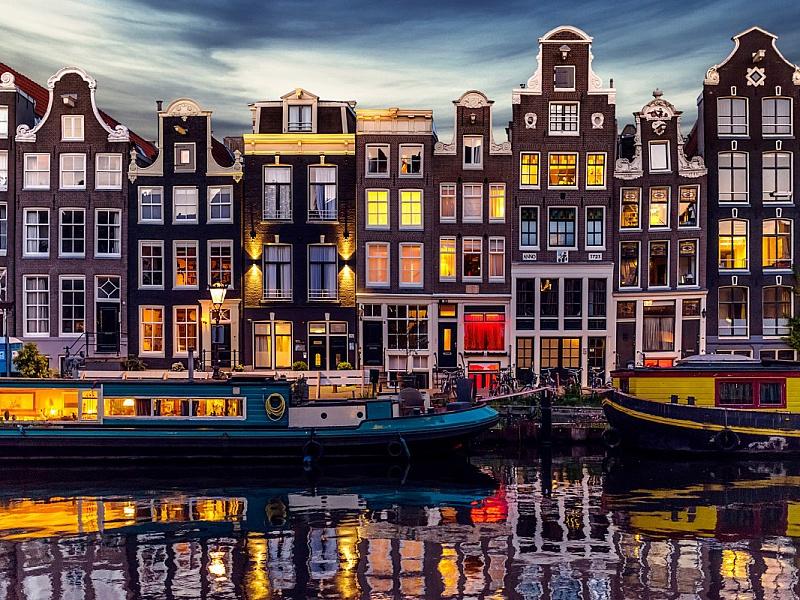 Пазл Собирать пазлы онлайн - Амстердам