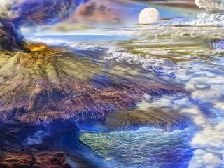 Собирать пазл Древняя Земля онлайн