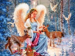 Собирать пазл Ангел 1 онлайн