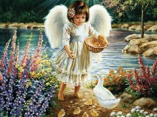 Собирать пазл Ангел 2 онлайн
