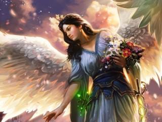 Собирать пазл Ангел 6 онлайн