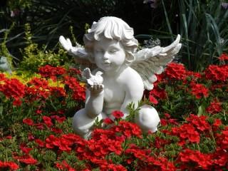 Собирать пазл Ангелок онлайн