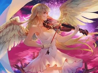 Собирать пазл Ангельская музыка онлайн
