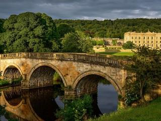 Собирать пазл Английский мост онлайн