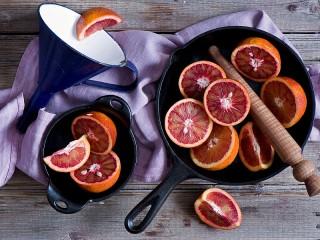 Собирать пазл Апельсины онлайн