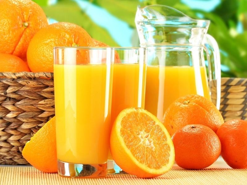 Пазл Собирать пазлы онлайн - Апельсиновый сок