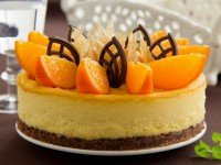 Собирать пазл Апельсиновый тортик онлайн