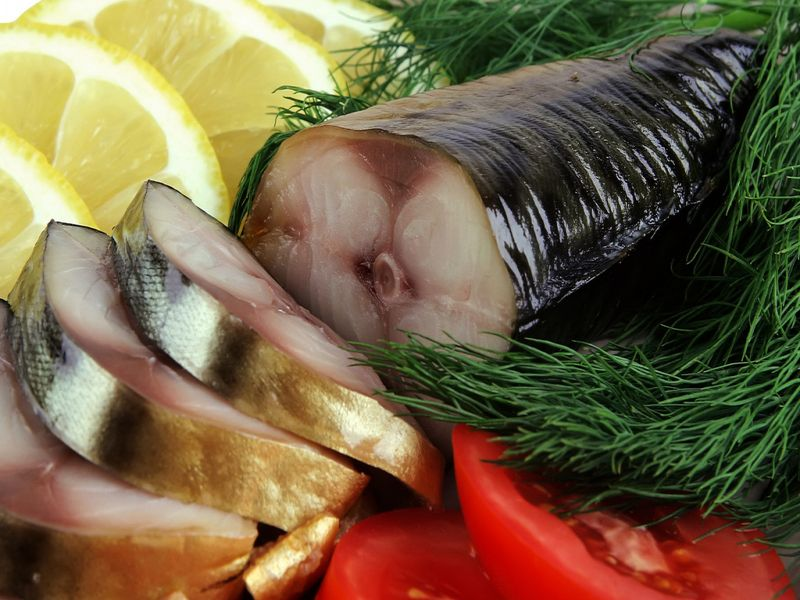 Пазл Собирать пазлы онлайн - Аппетитная рыбка