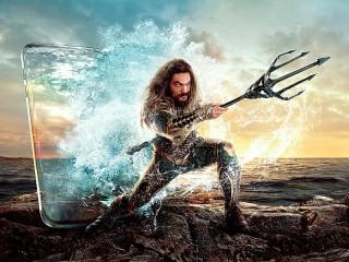Собирать пазл Aquaman онлайн