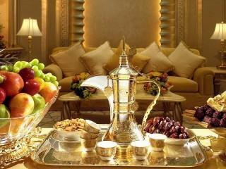 Собирать пазл Арабское чаепитие онлайн