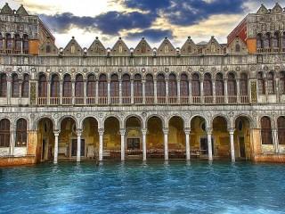 Собирать пазл Архитектура Венеции онлайн