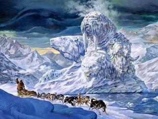 Собирать пазл Арктический Айсберг онлайн