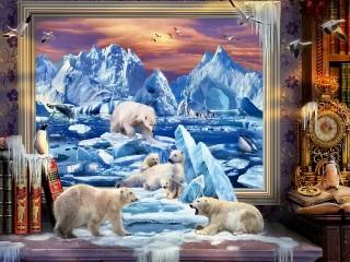 Собирать пазл Арктика онлайн