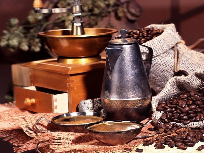 Пазл Собирать пазлы онлайн - Аромат кофе