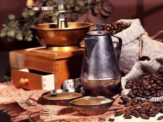 Собирать пазл Аромат кофе онлайн