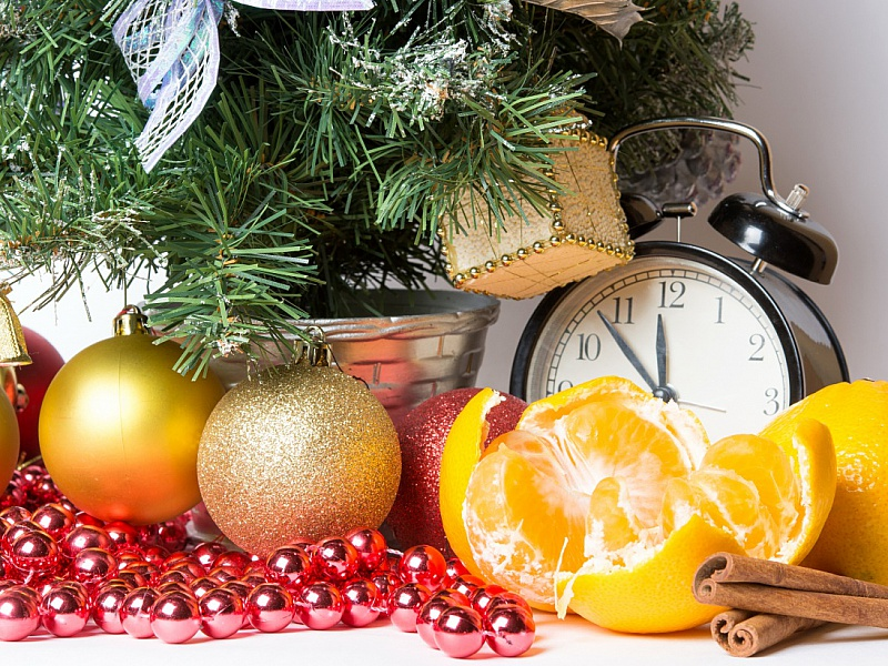 Пазл Собирать пазлы онлайн - Аромат Нового года