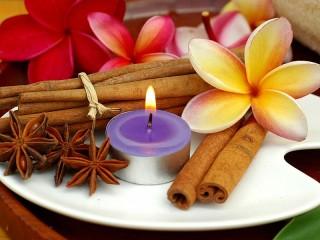 Собирать пазл Ароматическая свеча онлайн